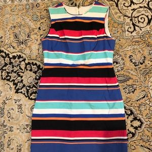 Kate Spade striped sheath dress